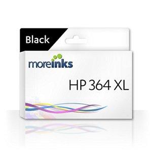 1 Moreinks Cartouche d'encre compatible à remplacer HP 364XL / Noir / pour HP Photosmart B110 B110A B109N C309G C6380 C309A B109A Premium CN245B Wireless D5460 Plus B110E C5380 B110C B209A C5393 AIO Fax CN216B 6510 C309C B209B B110D C5324 C6383 C5300 D5400 D7560 C5388 B8553 7510 5510 B010a 5515 5520 5524 6520 7520 5512 5514 5522 5525 6525 B109C B109D B109F Special Edition B109Q B110B eStation C510 B210 B210B B210E C310 C410b C6350 C7380 C5390 B8550 & plus d'Imprimantes