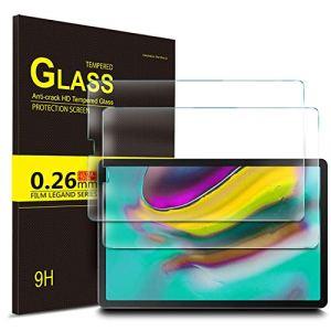 IVSO Protection écran en Vitre Tempered pour Samsung Galaxy Tab S5e T720/T725, Protecteur d'Ecran en Vitre Tempered pour Samsung Galaxy Tab S5e 10.5 T720/T725 2019 (2 Pack)