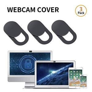 MOGOI Couverture Webcam, 0.03inch Ultra-Thin caméra Web Couverture Slide pour Ordinateur Portable, Ordinateur, MacBook Pro, Mac, PC, Surface Pro (3pcs)