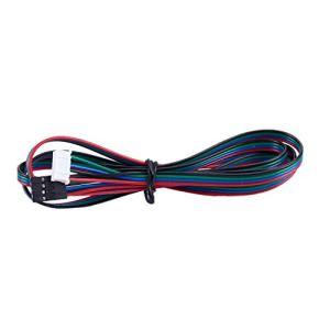 SODIAL Extended Nema 17 Cable De Moteur Pas à Pas 1M Long 4 6 Broches Imprimante 3D