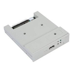 ASHATA Lecteur de Disquette Externe 3,5 Pouces SFR1M44-U 34 Broches Émulateur de Lecteur de Disquette USB 1,44MB pour équipement de contrôle Industriel