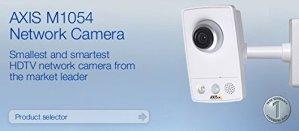 Axis M1054 Caméra IP intérieur PoE/H264/JPEG/MPEG4