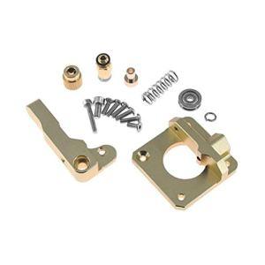 Extrudeuse en alliage d'aluminium CR10 Extrudeuse de filament 1.75MM d'extrudeuse de Bowden pour des pièces de rechange d'imprimante 3D CR-10 DIY (Couleur: Noir) -1