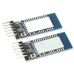 Li-ly 2X Module Bluetooth série HC-05 d'émetteur-récepteur de Carte de Base d'interface pour Arduino utile et Pratique