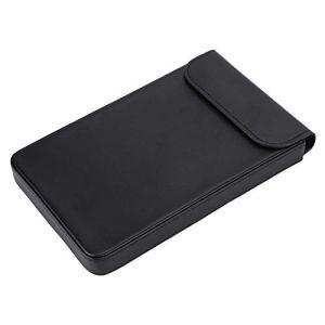 Tangxi Housse Laptop 7 Pouces pour GPD Pocket 2,Sac pour Ordinateur Portable étanche Cas Porte-Documents,Cuir véritable,Etui en Cuir Portable Professionnel pour Toutes Les tablettes