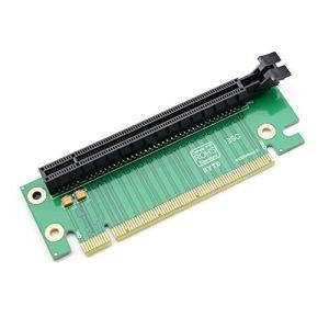 Jpstyle Hot Worldwide PCI-E Express 16X Carte de Montage de Carte de Montage à 90 degrés pour châssis de Serveur d'Ordinateur 2U à Chaud