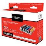 Seven Life Compatible Canon pgi-550 XL/cli-551 XL Pack de 5 Cartouches