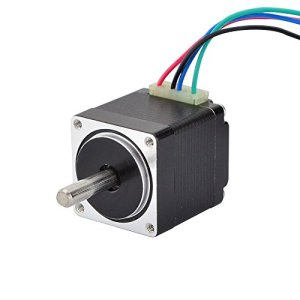 STEPPERONLINE Moteur pas a pas Nema 11 Bipolaire 1.8deg 7Ncm 0.67A 28x28x31mm 4 Fils pour Imprimante 3D, Machine CNC