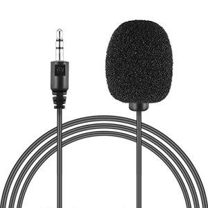 Microphone lavalier à Clipser pour Ordinateur Portable 3,5 mm