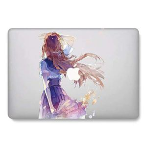 RQTX Anime Series Coque Rigide en Plastique pour MacBook Air 11″ (modèle A1370/A1465), One Piece LRS127