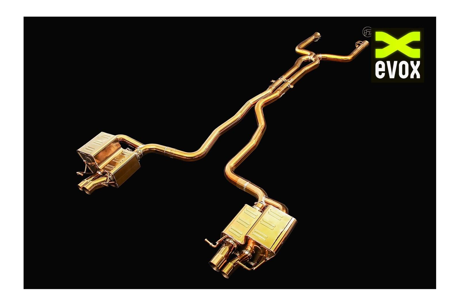 ipe titanium exhaust system mercedes c63 amg w205