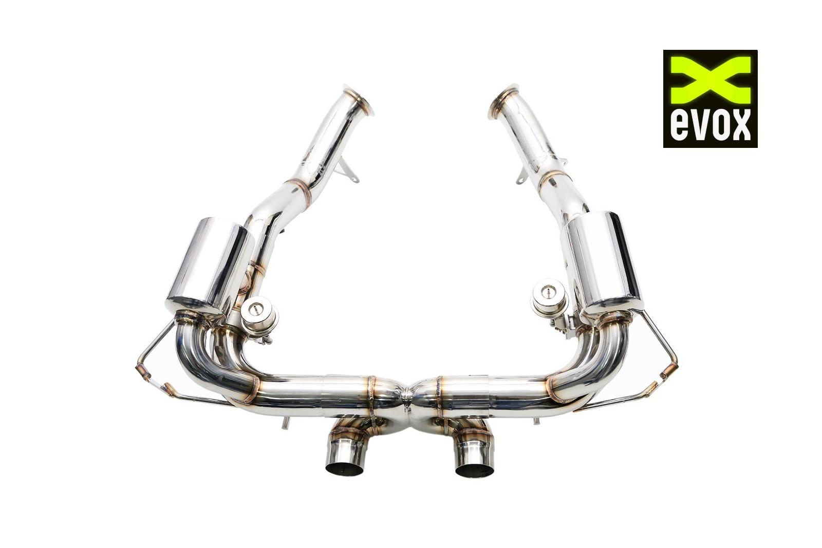 ipe exhaust system f1 ferrari 458