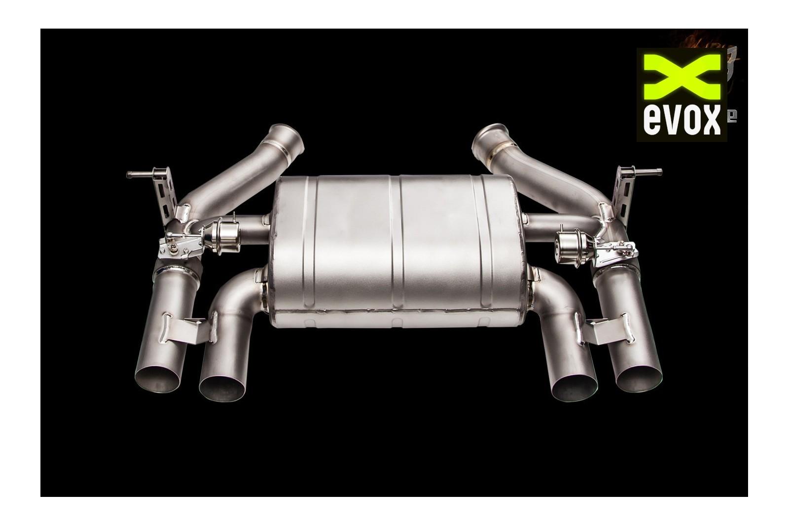 ipe titanium exhaust system bmw m4 f82