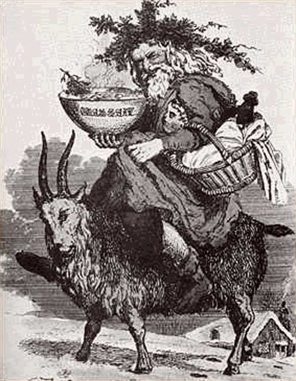 00-Father-Christmas-Riding-Goat