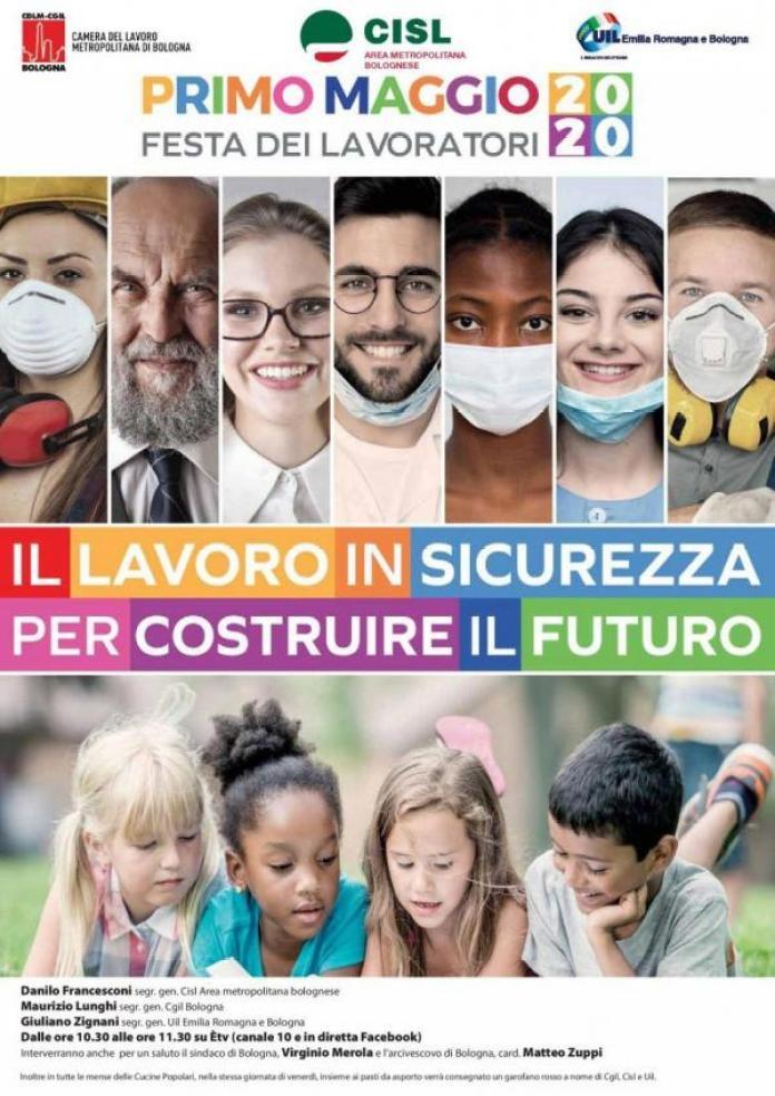 İtalya'dan 1 Mayıs afişi.
