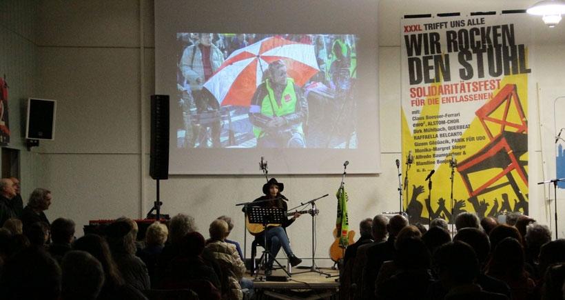 Mannheim 039 Da Işten Atılan Mobilya Işçileriyle Dayanışma Festivali