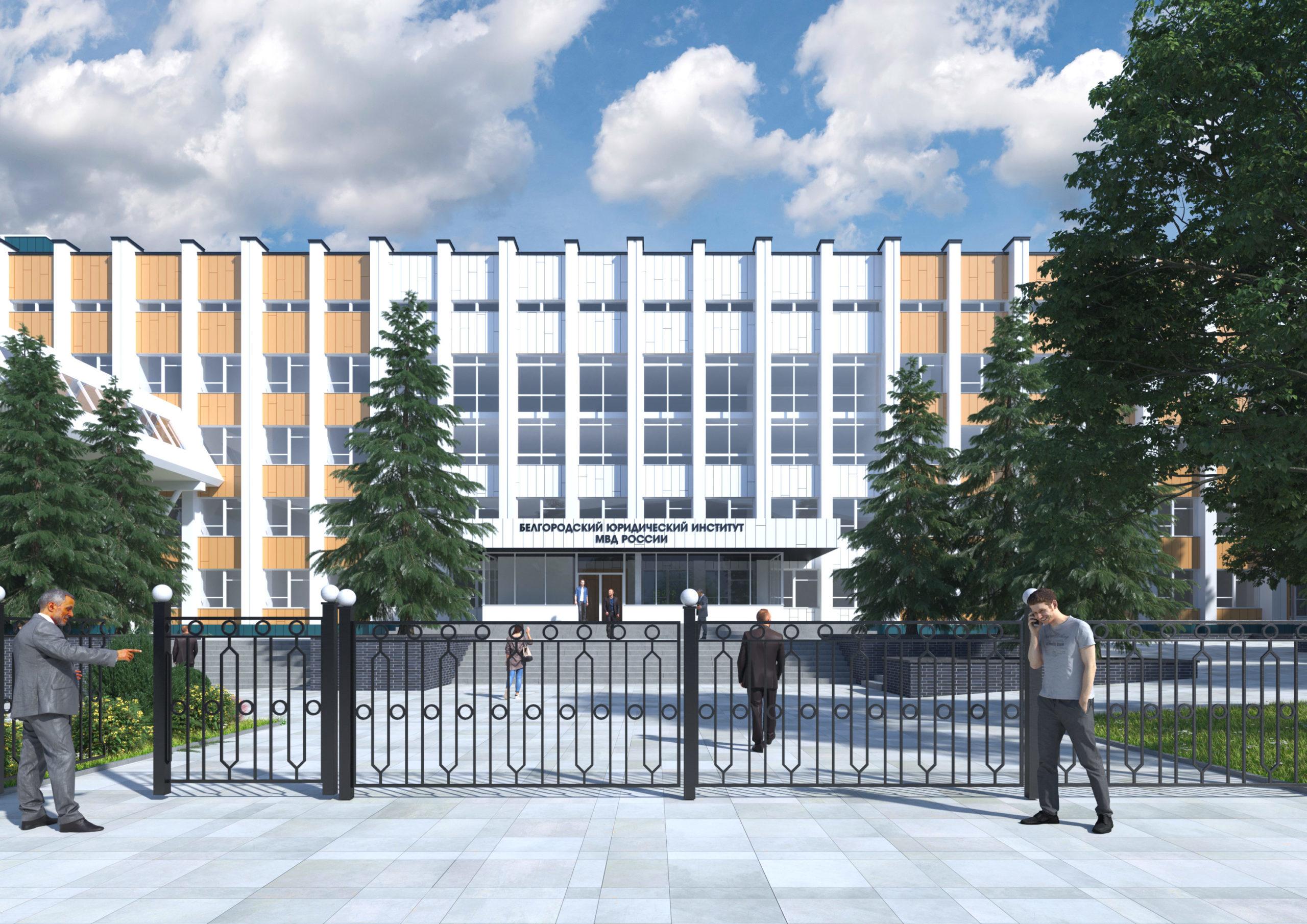 Общий вид здания со стороны улицы Горького