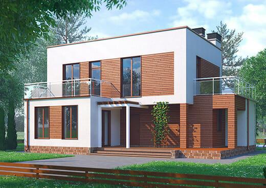 К28-2Э-157 «Двухэтажный четырёхкомнатный жилой дом в Московской области»