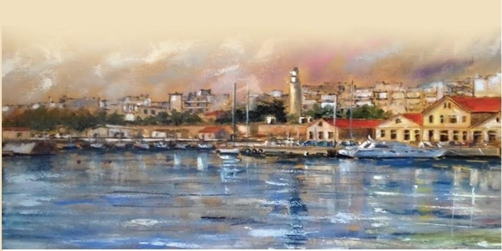 Αγγλιάς: Παρουσιάζει έργα της αγαπημένης του Αλεξανδρούπολης