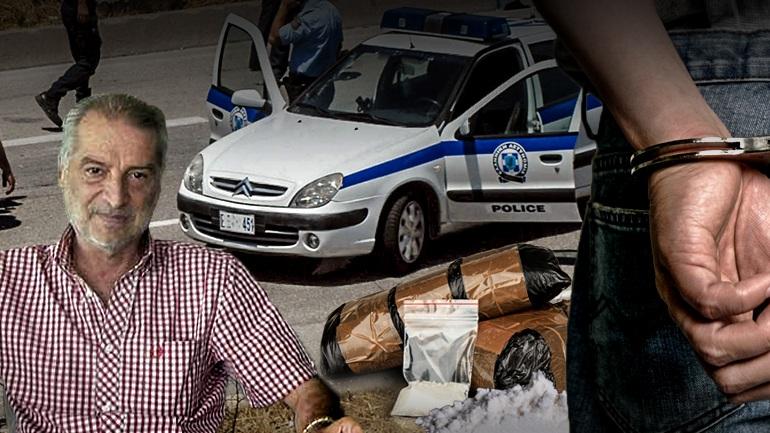 Συνέλαβαν τον πρώην πρόεδρο των Τρικάλων με 10 κιλά κοκαίνη