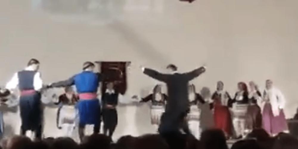 """Το εκπληκτικό χορευτικό σόλο ιερέα στην γιορτή του """"Ορφέα"""" Διδυμοτείχου (video+φωτό)"""