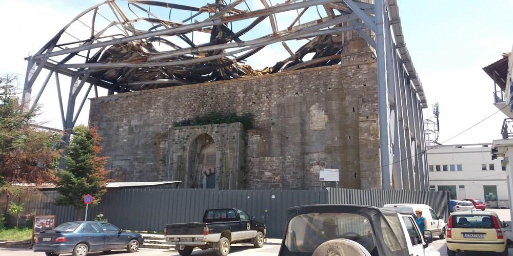 Τέμενος Βαγιαζήτ: Έξι εταιρείες διεκδικούν τα έργα αντί 180.00 ευρώ (Η προκήρυξη)