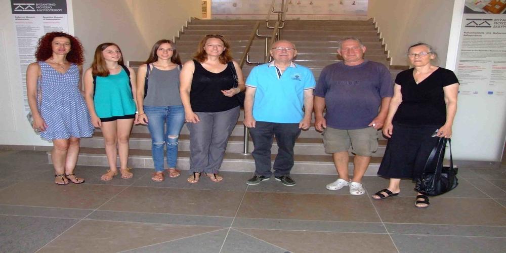 Περιήγηση αποδήμων εβριτών από την Αυστραλία στο Βυζαντινό Μουσείο Διδυμοτείχου