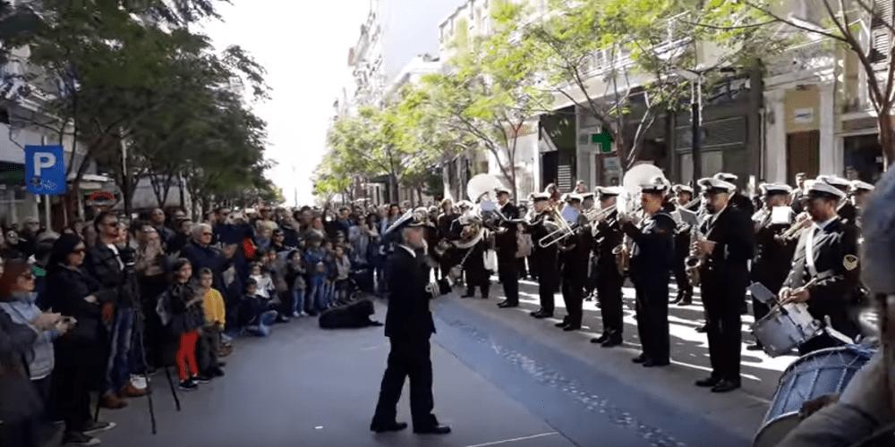 """Ο ύμνος της Θράκης, τα """"Λιανοχορταρούδια"""" απ' την μπάντα του Πολεμικού ναυτικού"""