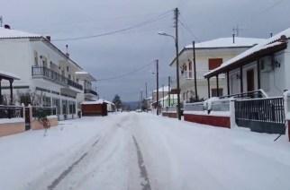 Χιόνια την Δευτέρα στον Έβρο. Θυελλώδεις άνεμοι και καταιγίδες σήμερα Σάββατο