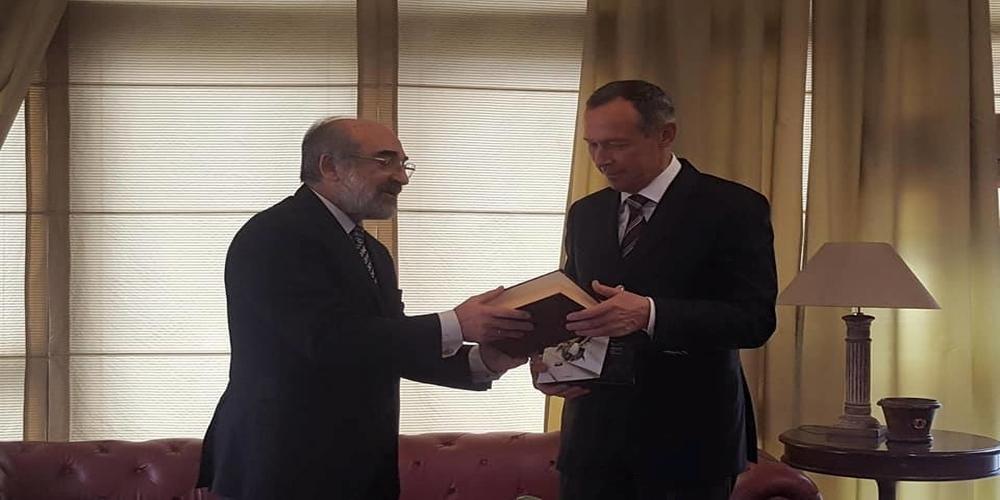 Αλεξανδρούπολη: Συνάντηση Λαμπάκη με τον πρέσβη της Ρωσίας. Συζήτησαν για λιμάνι-επενδύσεις(video)