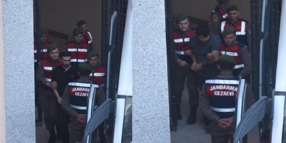 ΒΙΝΤΕΟ και φωτογραφίες από την χθεσινή μεταγωγή των Ελλήνων στρατιωτικών στο δικαστήριο της Αδριανούπολης