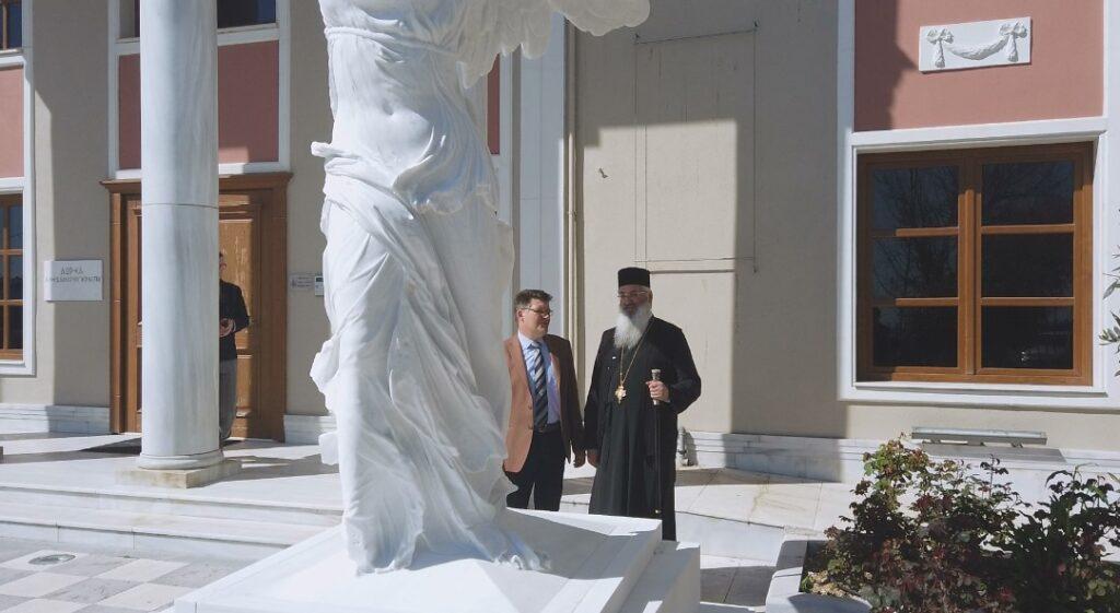 Αποτέλεσμα εικόνας για Ανθιμος Αλεξανδρούπολης: «Το άγαλμα της Νίκης της Σαμοθράκης είναι αφιερωμένο στον Γιώργο Παυλίδη»