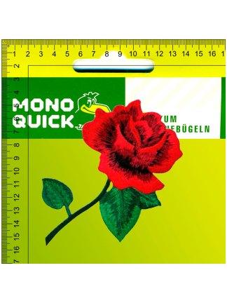 Термоаппликация<br>MQ-MX-22104-2020<br>Роза красная</br>
