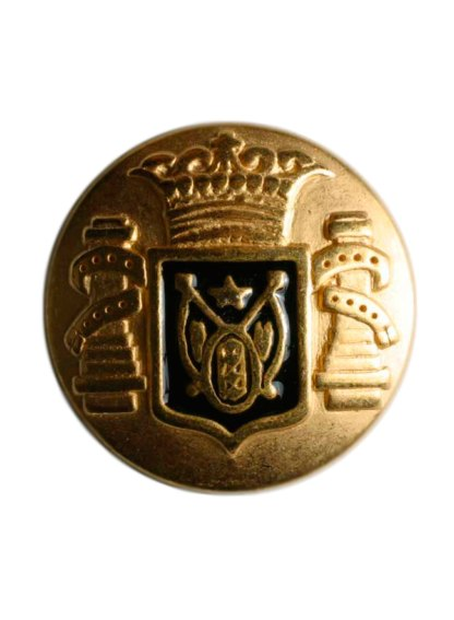 Пуговица DILL – Круглая с гербом