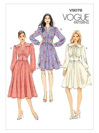 Выкройка Vogue №9076
