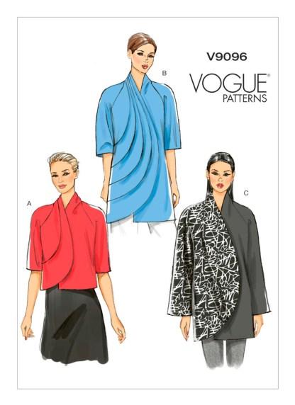 Выкройка Vogue №9096