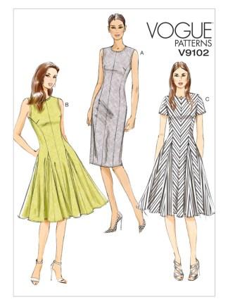 Выкройка Vogue №9102