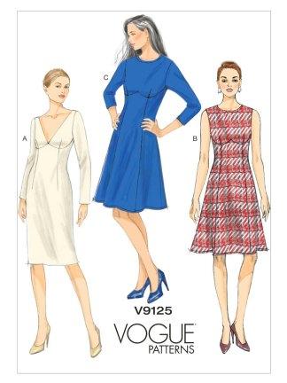 Выкройка Vogue №9125