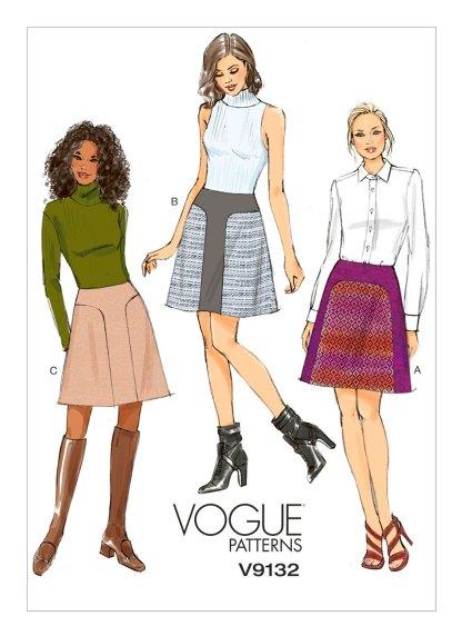 Выкройка Vogue №9132