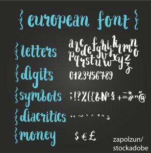 Диакритични знаци / Diacritic – Дума на деня – EVS Translations