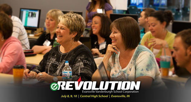 Come enjoy the learning at the eRevolution this summer!