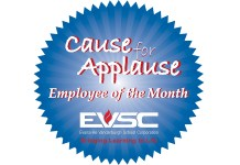 EVSC Cause for Applause Logo