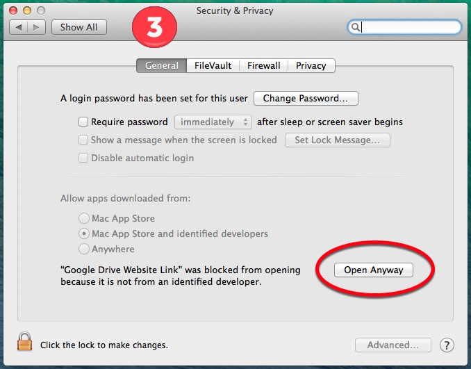 GApps-for-Mac-Dock-Security Settings Step 3