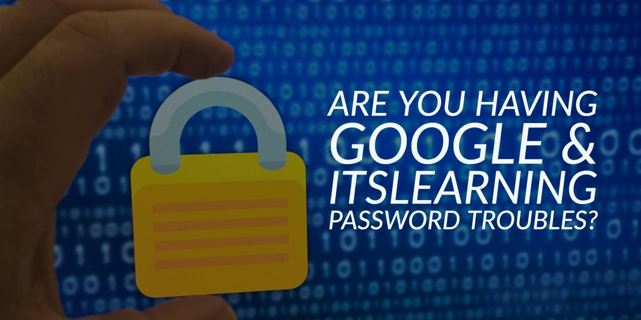 How to get logged in to EVSC Google and itslearning
