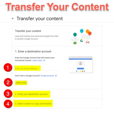 Transfer Your Content - 01