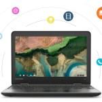 The NEW EVSC High School Chromebook – Lenovo 300e
