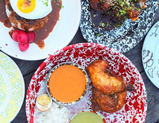 Roy Choi's A Frame brings local Hawaiian Cuisine to Los Angeles with dishes like loco moco, OG ribz, and cracklin beer can chicken!