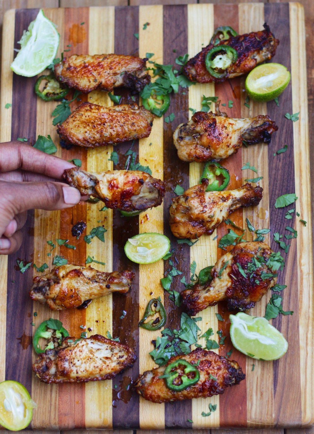These Creole butter chicken wings are seasoned to perfection! Spicy, zesty, and full of flavor! #ad
