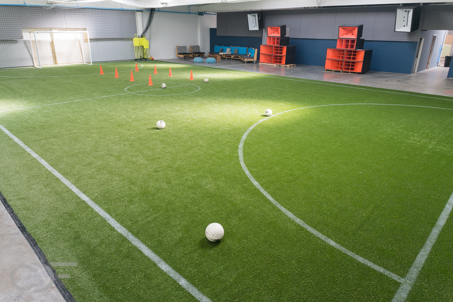 EVSA soccer pitch corner
