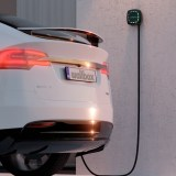 electric car charging at home